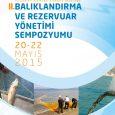 Balıklandırma ve Rezervuar Yönetimi Sempozyumu'nun ilki 07-09 Şubat 2006'daAkdeniz Su Ürünleri Araştırma Üretim ve Eğitim Enstitüsü Müdürlüğü ev sahipliğinde Antalya'da gerçekleştirilmiştir. 2. si ise 20-22 Mayıs 2015 tarihinde Eğirdir Su […]