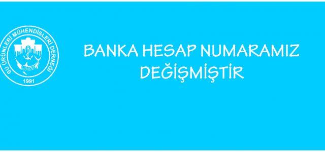 Derneğimizin Ziraat Bankası Maltepe Ceddesi (Topkapı/İstanbul) Şubesi nezdinde bulunan hesabımız aşağıdaki gibi değişmiştir. 2015 yılı aidatlarını yatırmayan üyelerimizin aidatlarını aşağıdaki heplardan birisine yatırmaları ve sumder@suurunleri.org.tr posta hesabımıza bilgi vermelerini rica […]